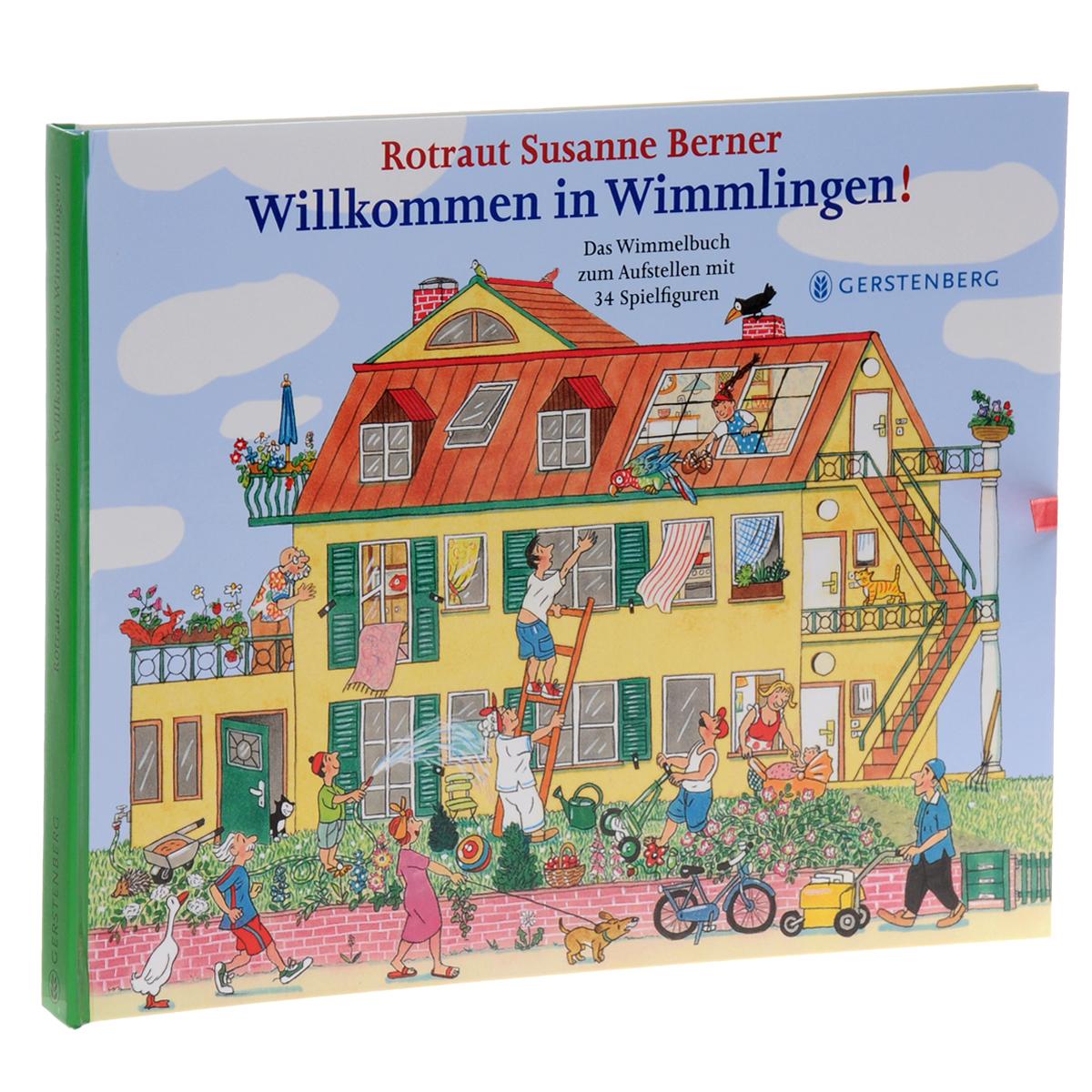 Willkommen in Wimmlingen: Das Wimmelbuch zum Aufsteen mit 34 Spielfiguren романова м угадай кто жужжит