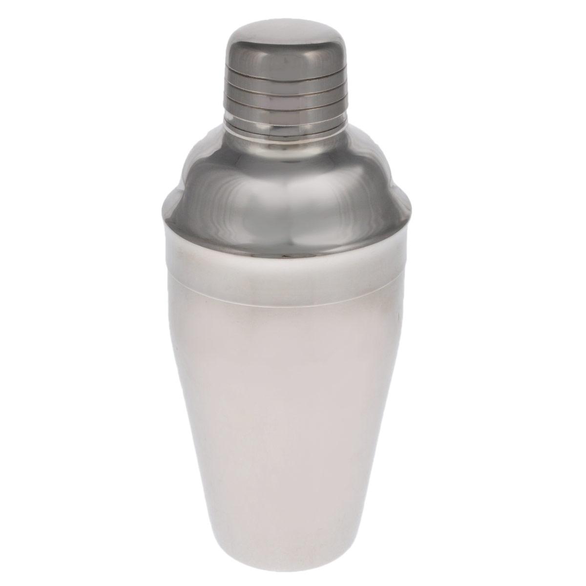 Шейкер Tescoma Presto, 500 мл. 420712420712Шейкер Tescoma Presto, изготовленный из нержавеющей стали с зеркальной полировкой, идеален для приготовления смешанных напитков, пригоден для домашнего и профессионального использования. Шейкер снабжен практичным ситом для процеживания напитков.Можно мыть в посудомоечной машине.Диаметр шейкера (по верхнему краю): 3,8 см. Высота шейкера: 20 см.