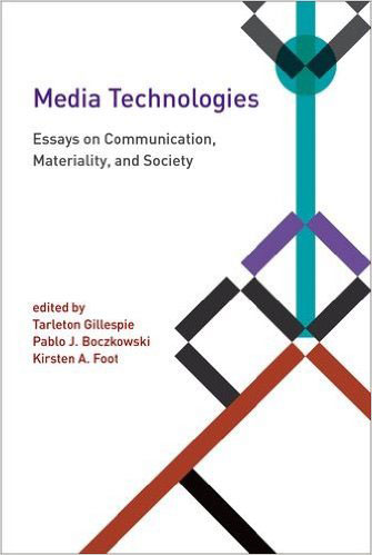 Media Technologies: Essays on Communication, Materiality, and Society technologies in wastewater treatment