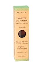 Дом Арганы Fruits du Maroc Масло арганы для ухода и массажа Вербена - Зеленый чай, 100 мл705992Эфирное масло вербены способствует расслаблению, снижает уровень стресса. Идеально подходит для снижения напряжения нервной системы и усталости. Зеленый чай обладает антисептическими свойствами, оказывает антивозрастной и антицеллюлитный эффект, повышает тургор кожи. Масло обладает свежим ароматом.