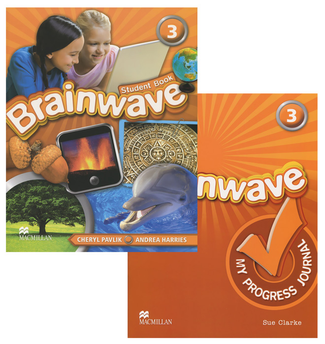 Brainwave 3: Student's Book: My Progress Journal (комплект из 2 книг) my phonics 1 the alphabet activity book рабочая тетрадь