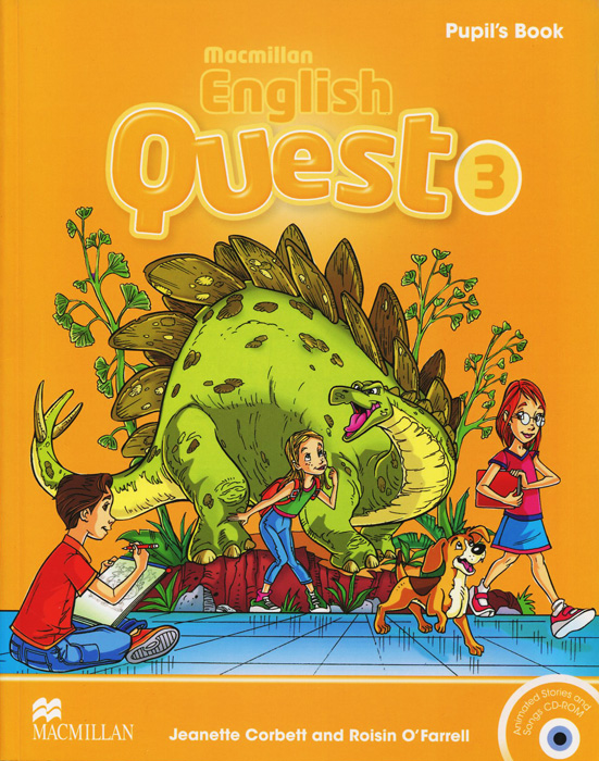 Macmillan English Quest 3: Pupil's Book (+ CD-ROM) little books black ant sb with cd rom