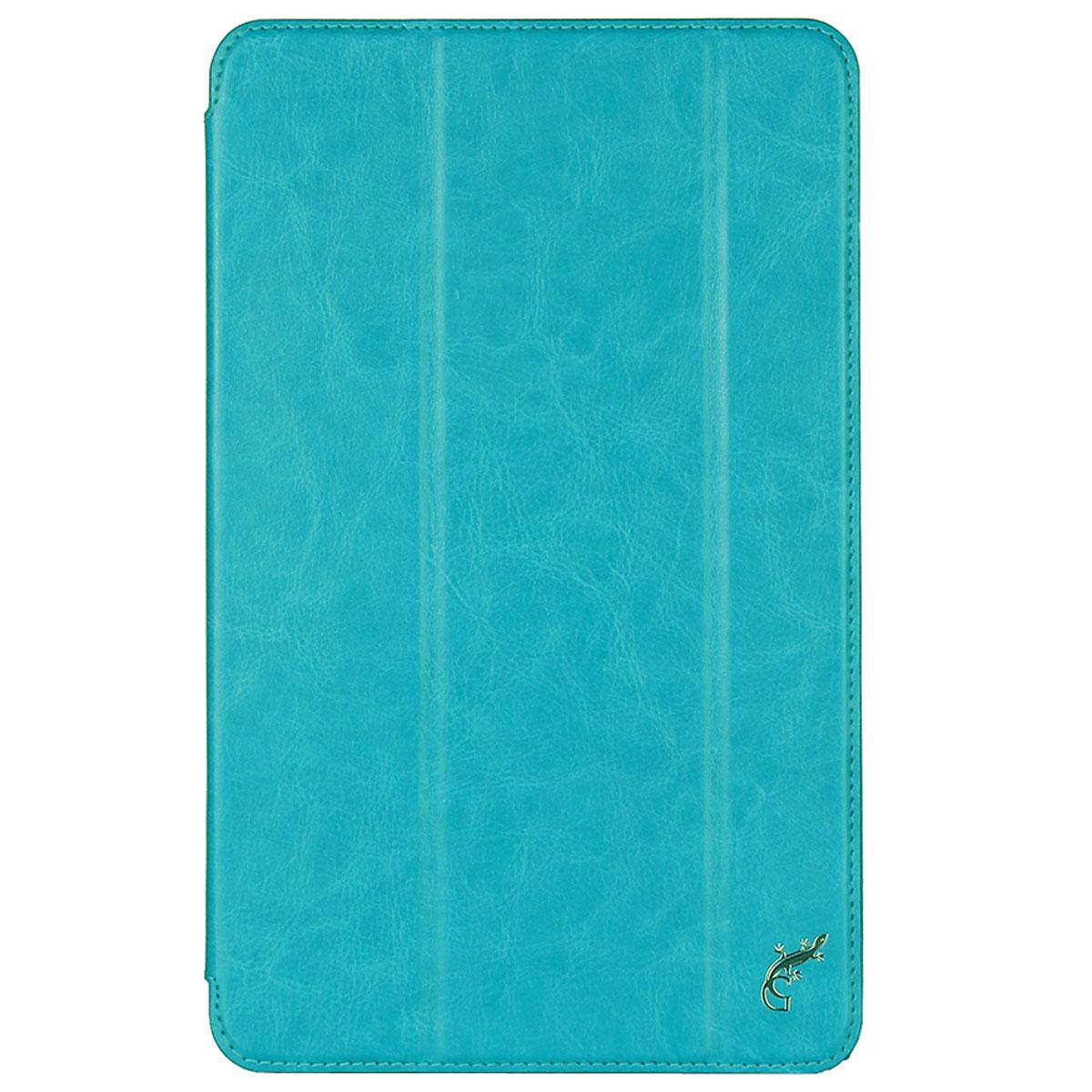 G-Case Slim Premium чехол для Samsung Galaxy Tab Е 9.6, Light BlueGG-637Защитный чехол G-Case Slim Premium для планшета Samsung Galaxy Tab Е 9.6 отличается высокой степенью защиты от попадания влаги и пыли, а также падений и механических ударов. Среди конструктивных особенностей защитного чехла G-case можно отметить наличие двухпозиционной подставки, благодаря которой устройство можно установить в нескольких положениях для удобства пользования.