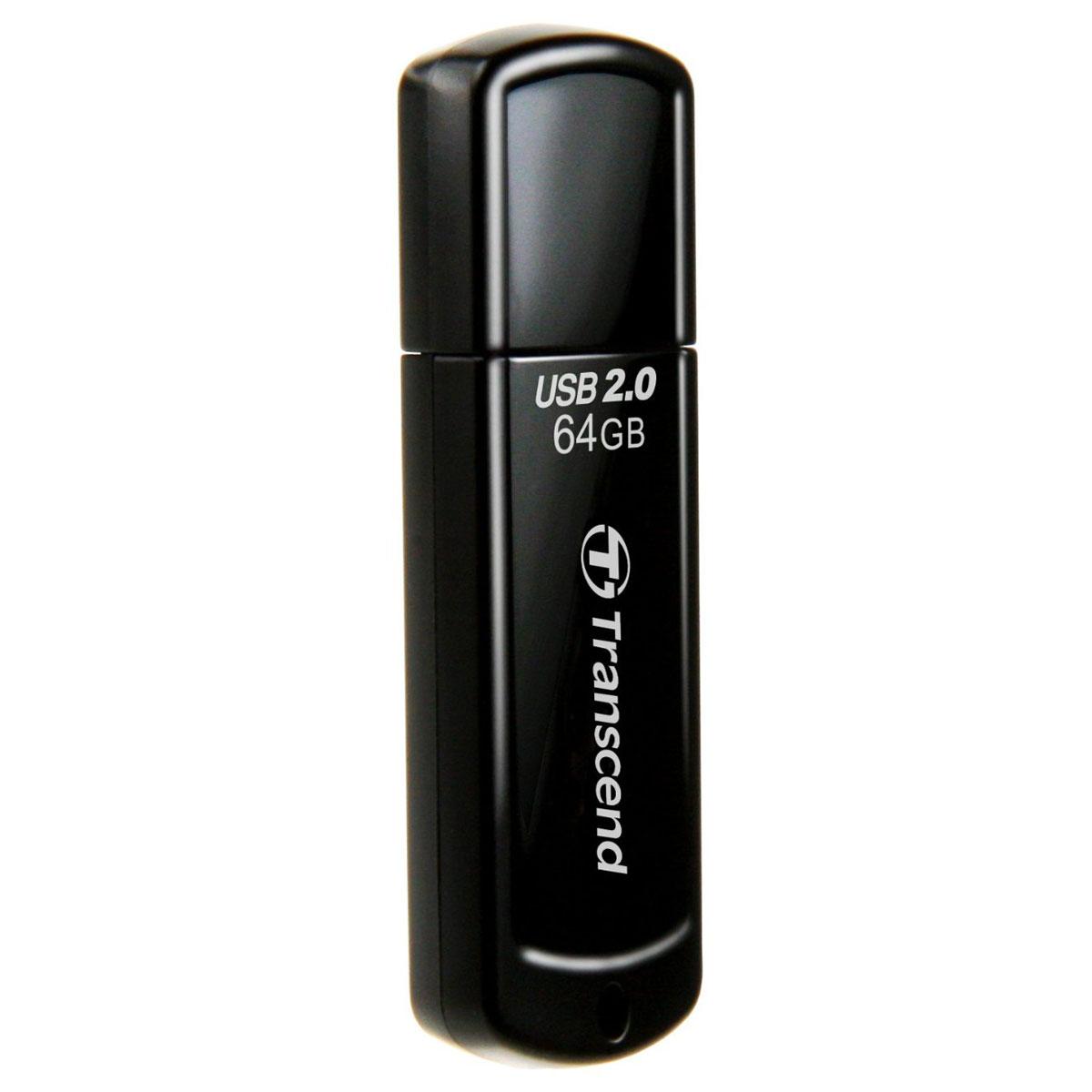 Transcend JetFlash 350 64GB USB-накопитель transcend jetflash 790 64gb