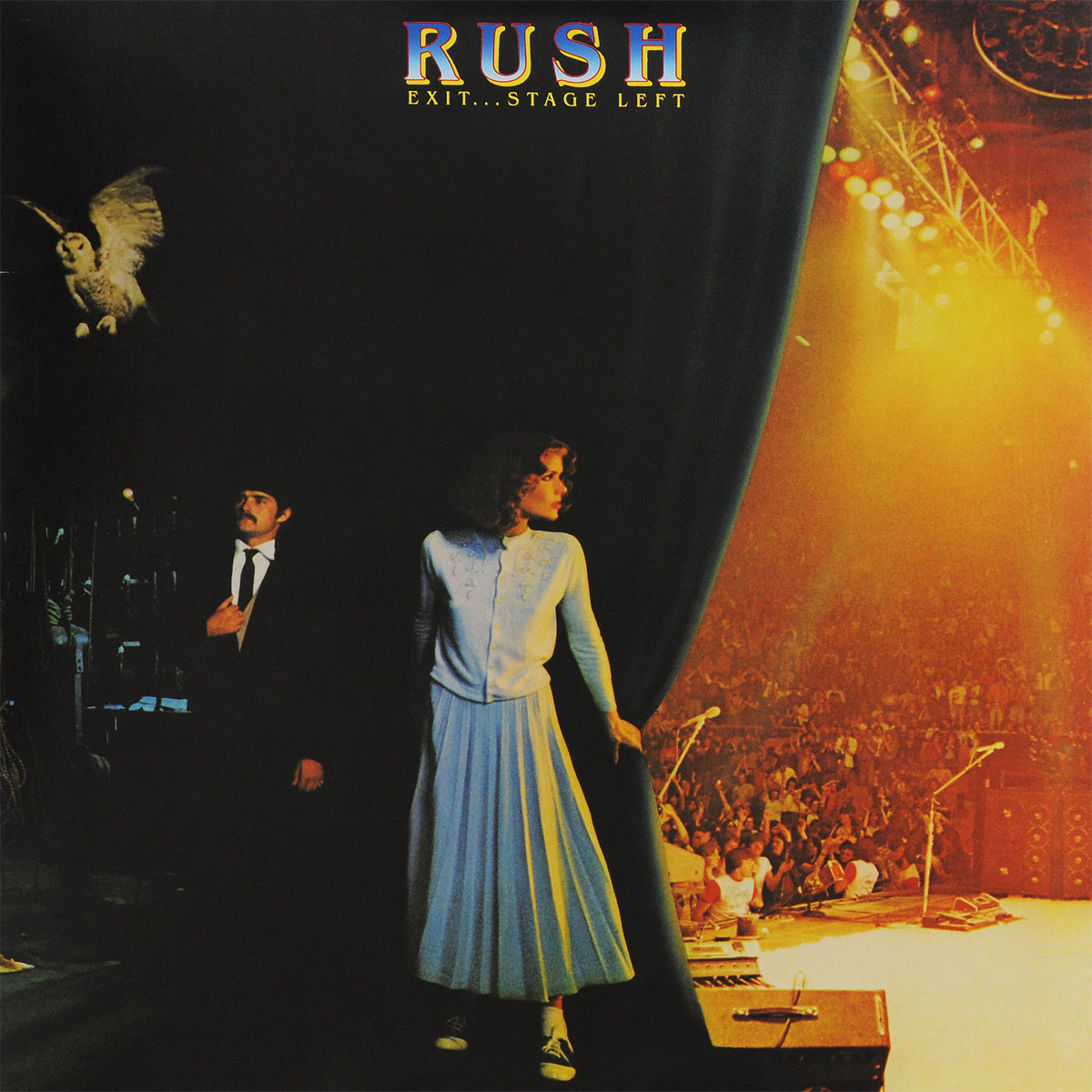 Rush Rush. Exit...Stage Left (2 LP) rush rush hold your fire lp