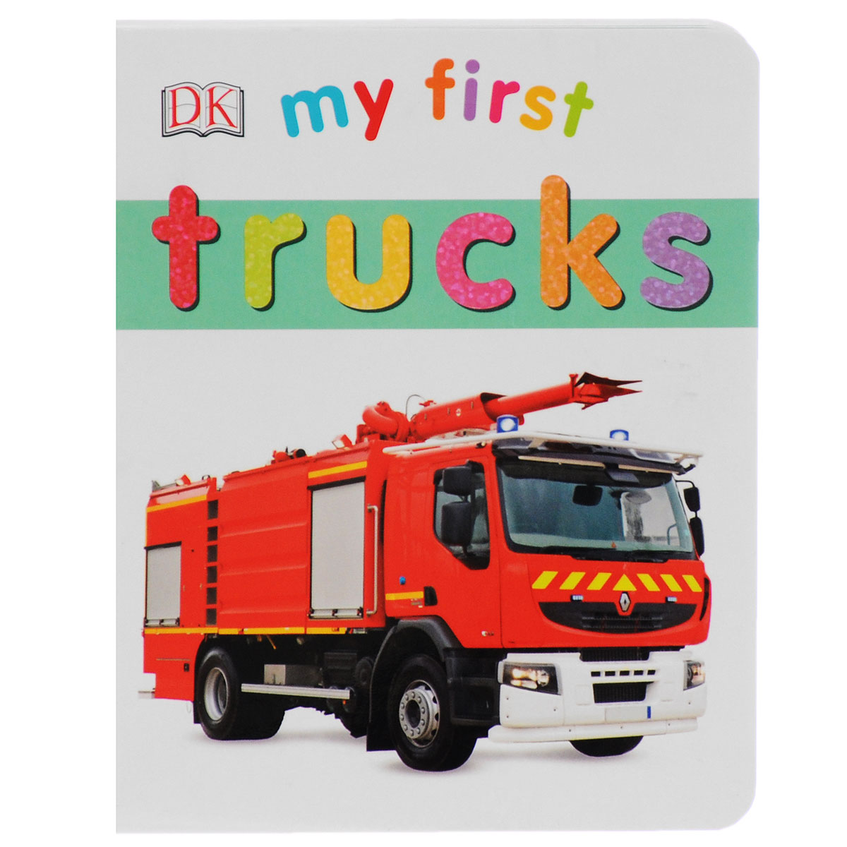 My First: Trucks big book of my world
