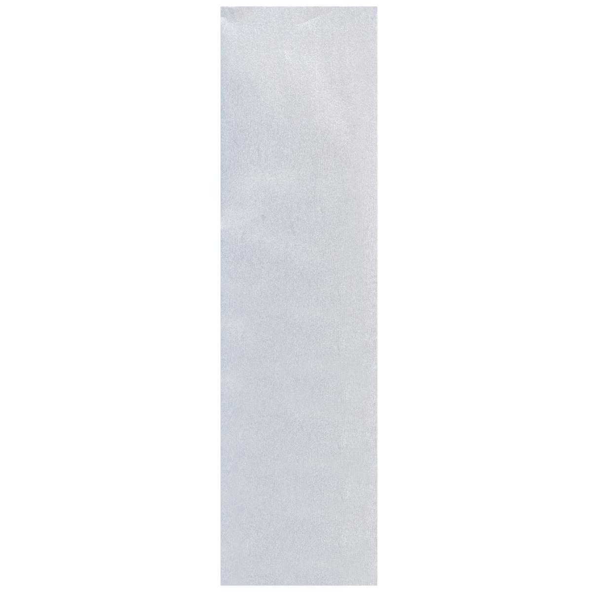 Бумага крепированная Проф-Пресс, металлизированная, цвет: серебристый, 50 х 250 смБ-2303Крепированная металлизированная бумага Проф-Пресс - отличный вариант для воплощения творческих идей не только детей, но и взрослых. Она отлично подойдет для упаковки хрупких изделий, при оформлении букетов, создании сложных цветовых композиций, для декорирования и других оформительских работ. Бумага обладает повышенной прочностью и жесткостью, хорошо растягивается, имеет жатую поверхность.Кроме того, металлизированная бумага Проф-Пресс поможет увлечь ребенка, развивая интерес к художественному творчеству, эстетический вкус и восприятие, увеличивая желание делать подарки своими руками, воспитывая самостоятельность и аккуратность в работе. Такая бумага поможет вашему ребенку раскрыть свои таланты.