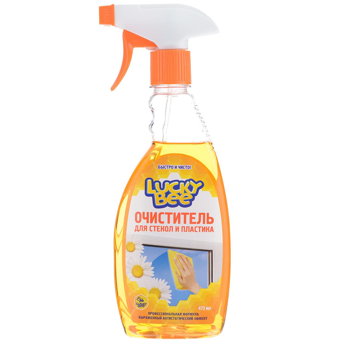 Очиститель Lucky Bee для стекол и пластика, 473 млLB7505Очиститель Lucky Bee быстро и эффективно очищает стеклянные и пластиковые поверхности от загрязнений, отпечатков пальцев, никотинового налета. Придает обработанной поверхности длительный антистатический эффект, обладает приятным свежим ароматом.Состав: деминерализованная вода, менее 30%: изопропанол, менее 5%: бутилцеллозольв, аммиак, ПАВ, антистатик, функциональные добавки, составляющие ноу-хау компании, краситель, отдушка. Товар сертифицирован.