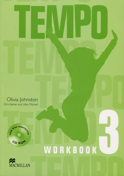Tempo: Workbook: Level 3 (+ CD-ROM) цветкова татьяна константиновна english grammar practice учебное пособие