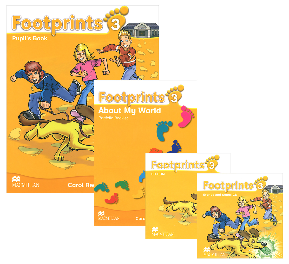 Footprints 3: Pupil's Book (комплект из 2 книг + 2 CD) cambridge learners dictionary english russian paperback with cd rom