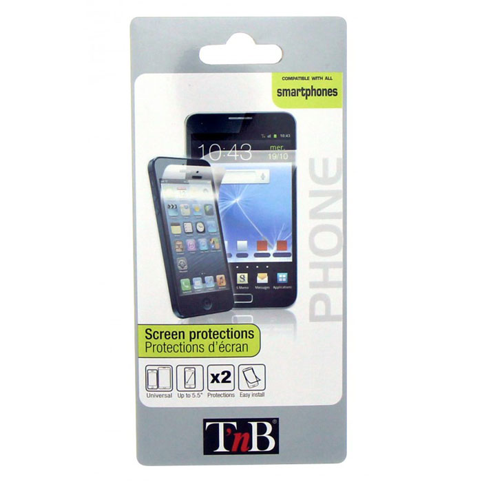 TNB Precallphone защитная пленкаPRECALLPHONETNB Precallphone - защитная пленка для мобильных устройств с диагональю дисплея до 5,5 дюймов, выполненная по технологии P.E.T. Подойдет для широкого модельного ряда современных смартфонов.