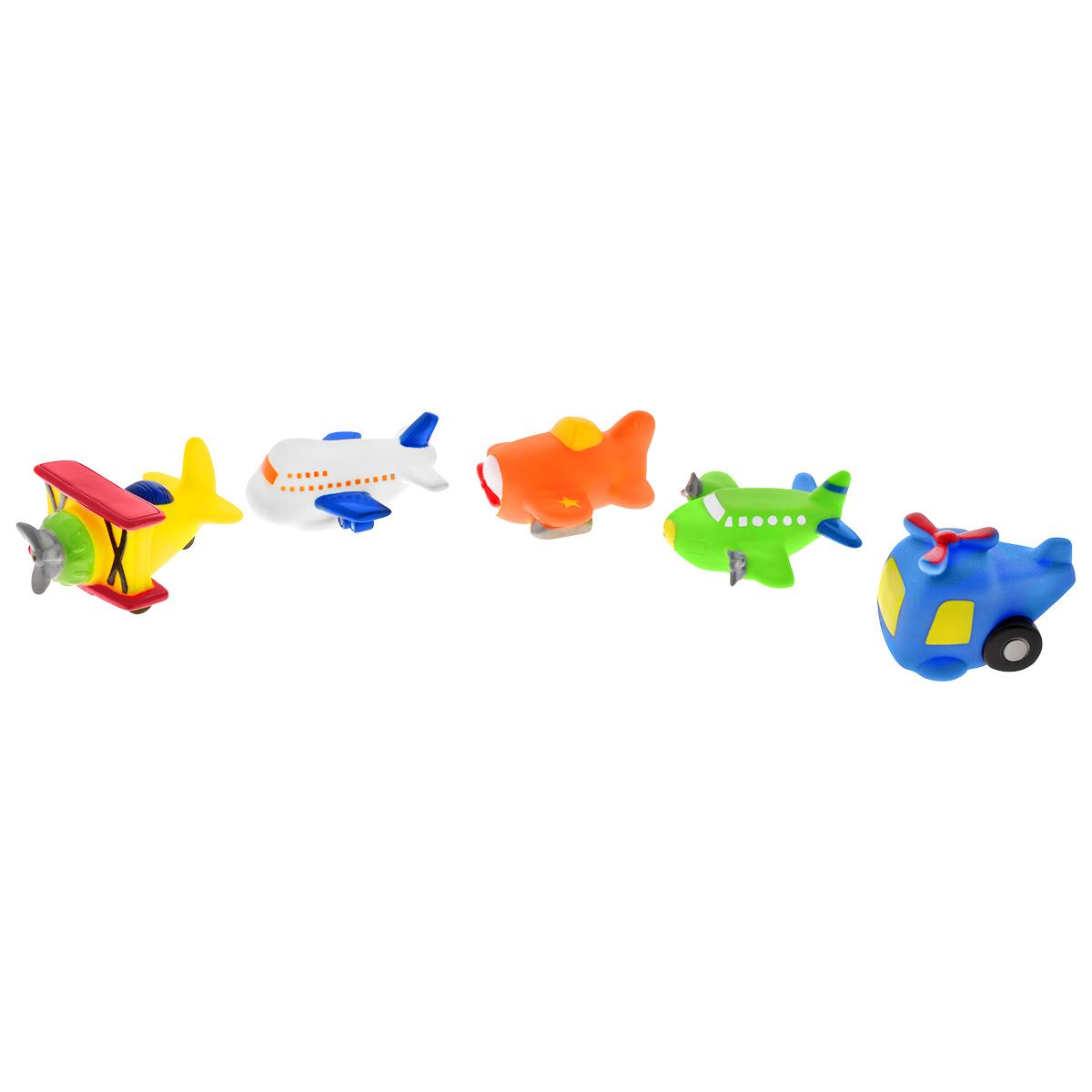 Игровой набор для ванны Mioshi Воздушное путешествие, 5 шт игрушки для ванны tolo toys набор ведерок квадратные