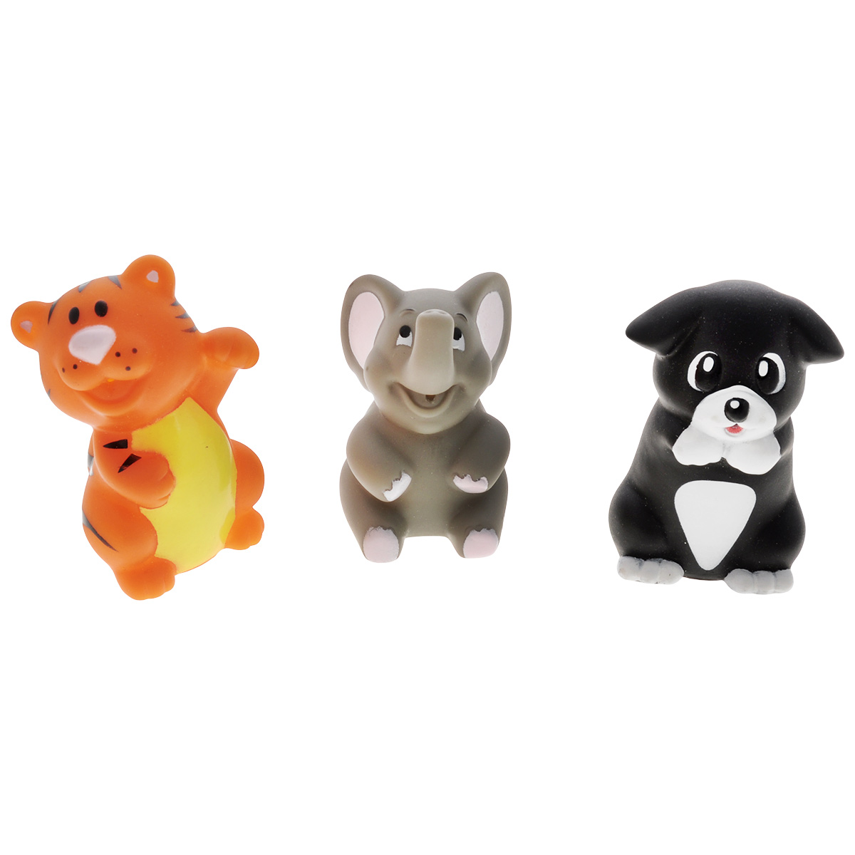 Игровой набор для ванны Mioshi Удивительные животные, 3 шт barneybuddy barneybuddy игрушки для ванны стикеры забавные животные