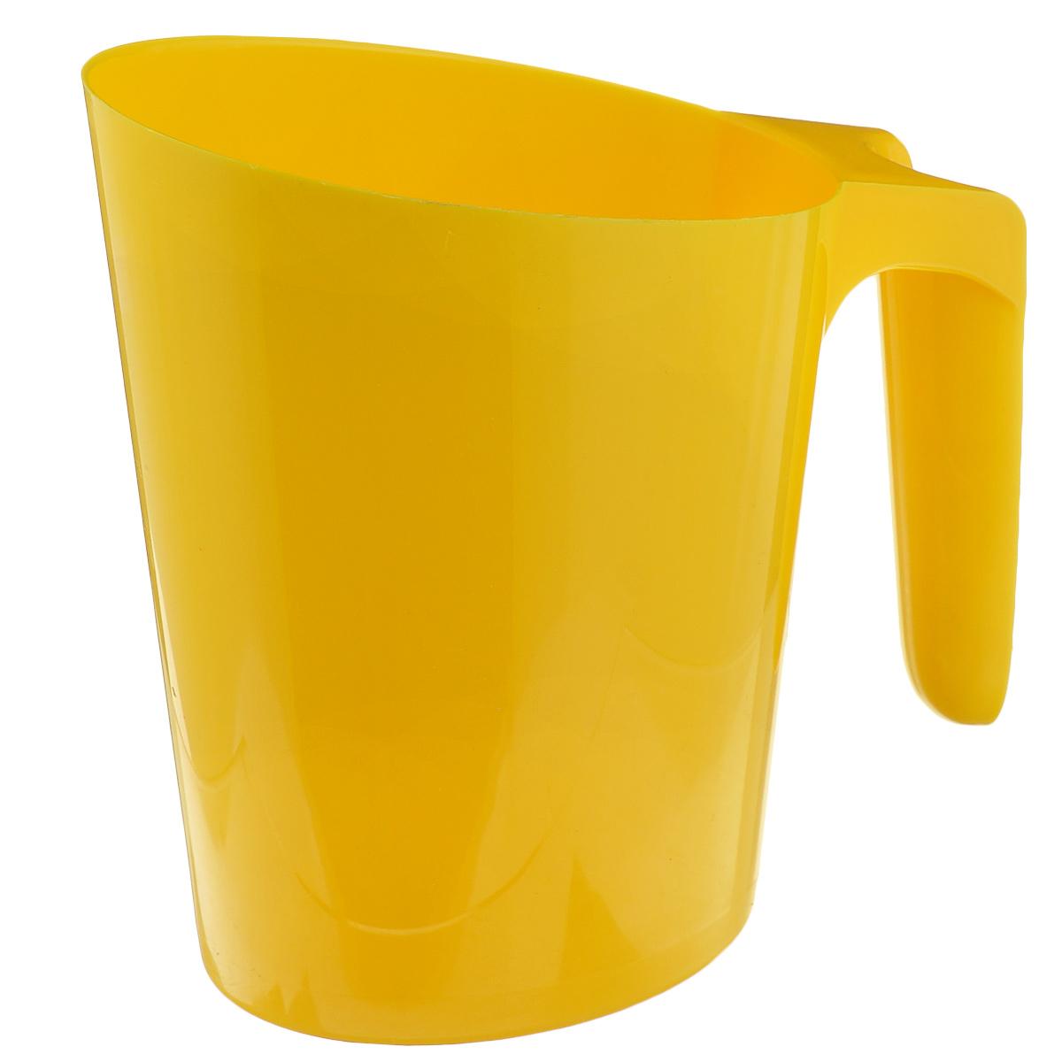 Кувшин для молочного пакета Idea, цвет: желтыйМ 1216Каждый сталкивался с проблемой неустойчивого молочного пакета. Громоздкие кастрюли занимают много места и неопрятно выглядят среди остальных продуктов. Кувшин Idea очень компактный, он позволит спокойно разместить остатки молока на полках или дверце холодильника. Кувшин надежен и устойчив, большое дно и широкая удобная ручка предотвратят опрокидывание. Вы так же сможете использовать его под компот, морс или сок. Кувшин Idea будет вашим надежным помощником в любой ситуации! Размер по верхнему краю: 13,5 см х 9 см.Высота: 17 см.