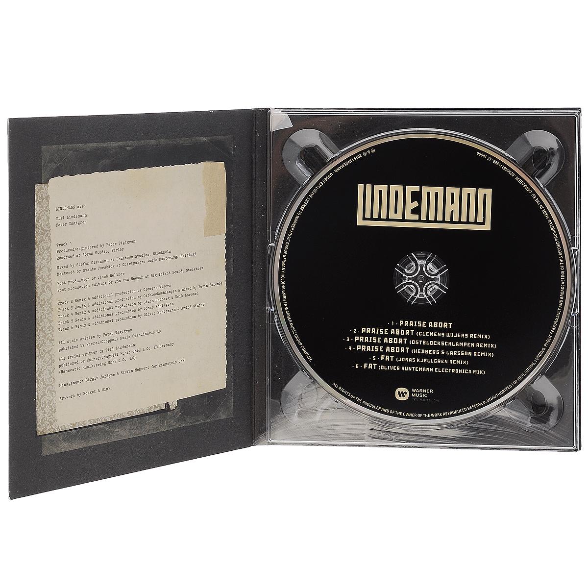 Lindemann.  Praise Abort Warner Music