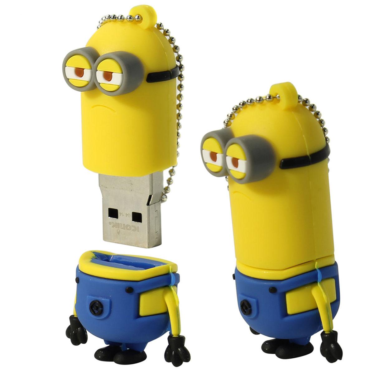 Iconik Миньон Кевин 8GB USB флеш-накопитель - Носители информации