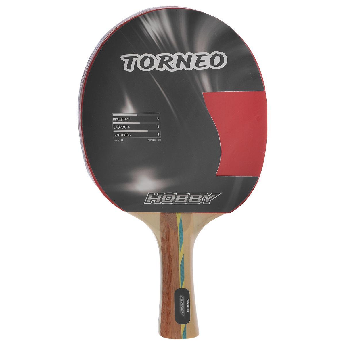 """Ракетка для настольного тенниса Torneo """"Hobby"""""""