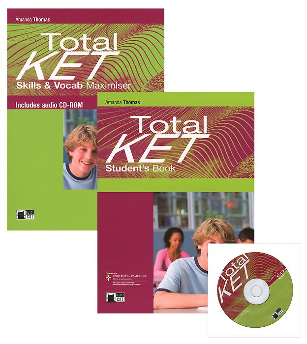 Total Ket: Student's Book: Total Ket: Skills & Vocab Maximiser (комплект из 2 книг) (+ CD) princeton review gre power vocab