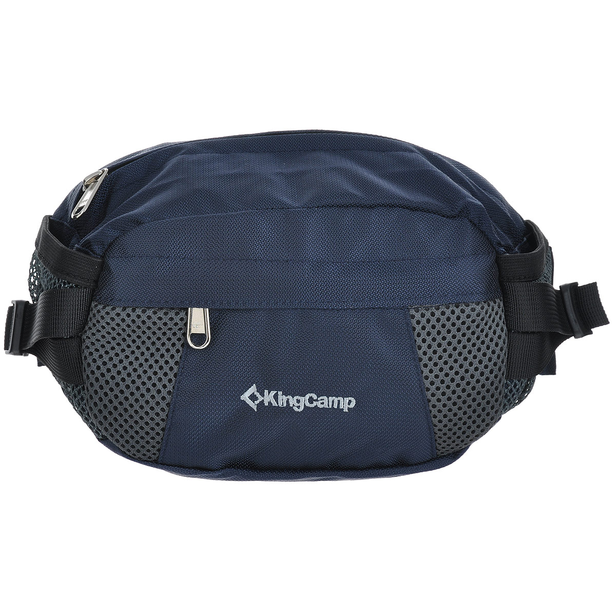 Сумка поясная KingCamp Coral, цвет: синий посуда kingcamp picnic cooking wallet 2 person