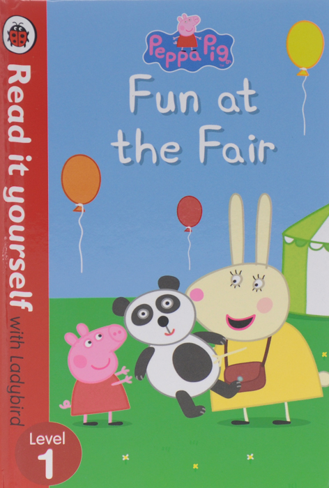 Peppa Pig: Fun at the Fair: Level 1 spot dobble find it board game for children fun with family gathering the animals paper quality card