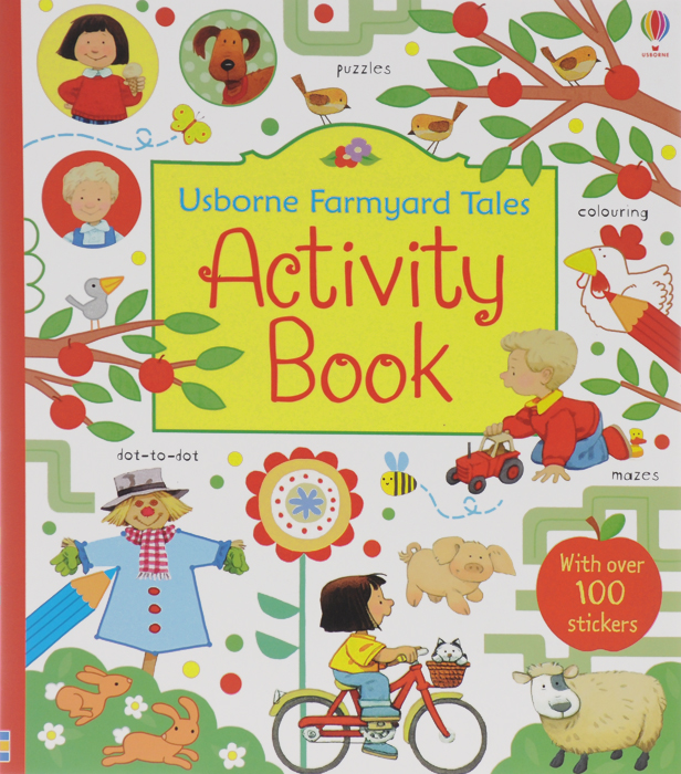 Activity Book nature dot to dot colouring