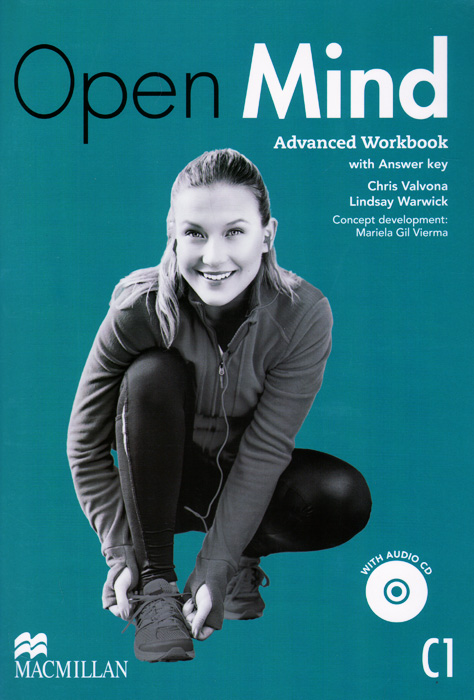 Open Mind: Advanced Workbook with Answer Key: Level C1 (+ CD)