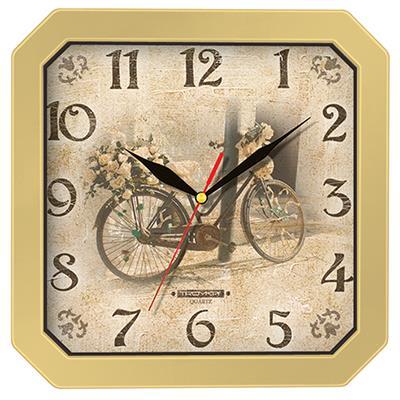Часы настенные Troyka, цвет: бежевый. 3137131031371310Настенные кварцевые часы Troyka в винтажном стиле, изготовленные из пластика, прекрасно подойдут под интерьер вашего дома. Квадратные часы имеют три стрелки: часовую, минутную и секундную, циферблат защищен прозрачным пластиком.Размер часов: 29 см х 29 см х 3,5 см.Часы работают от 1 батарейки типа АА напряжением 1,5 В. Внимание! Часы укомплектованы бесплатным тестовым элементом питания для обеспечения их работоспособности при предпродажной подготовке и демонстрации рабочих функций.