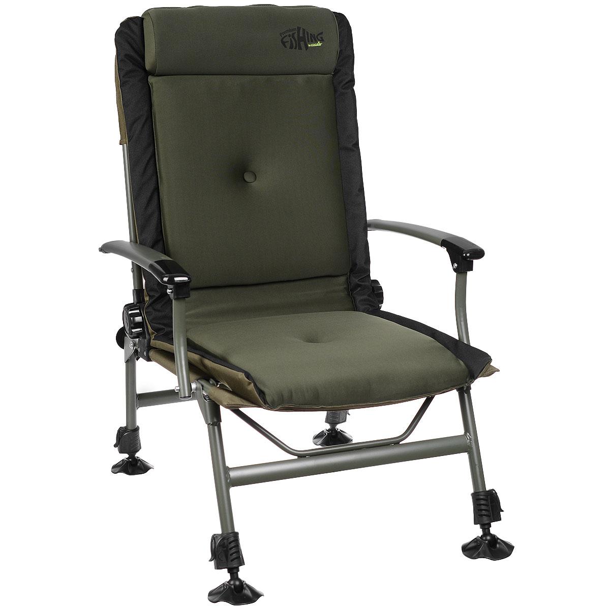 Кресло карповое Norfin Preston NF, цвет: хаки, 53 см х 50 см х 102 см black diamond primrose sa medium