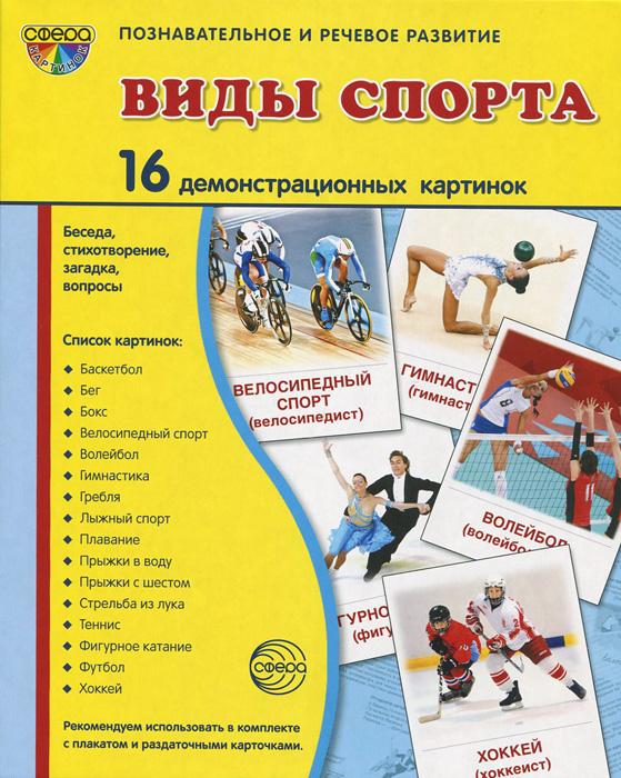 Т. В. Цветкова Виды спорта (набор из 16 демонстрационных картинок)
