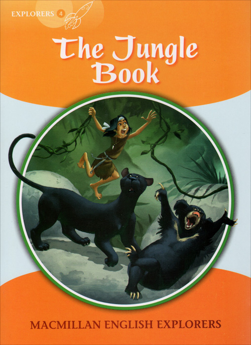 The Jungle Book: Explorers 4 walking through the jungle