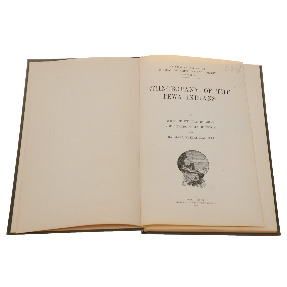 Ethnobotany of the Tewa Indians.