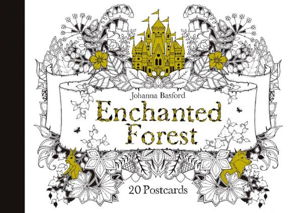 Enchanted Forest: 20 Postcards enchanted forest 20 postcards