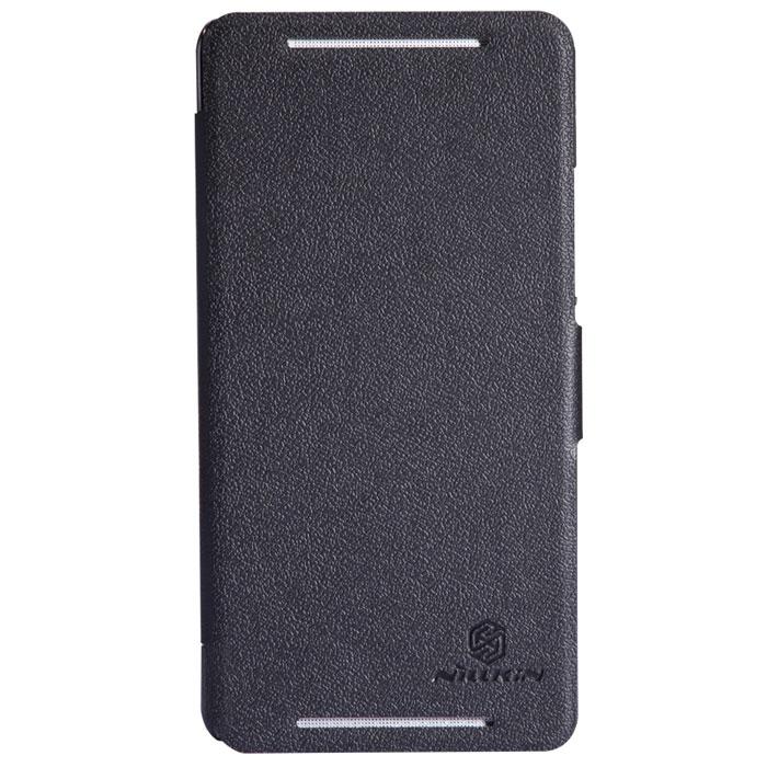 Nillkin Fresh Series Leather Case чехол для HTC One Max, Black стоимость
