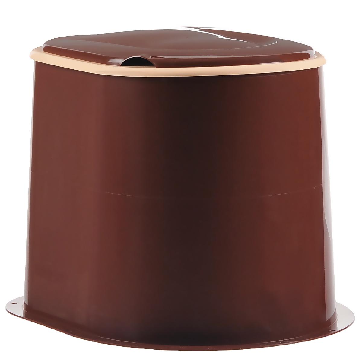"""Туалет дачный """"Альтернатива"""", цвет: коричневый. М1295"""