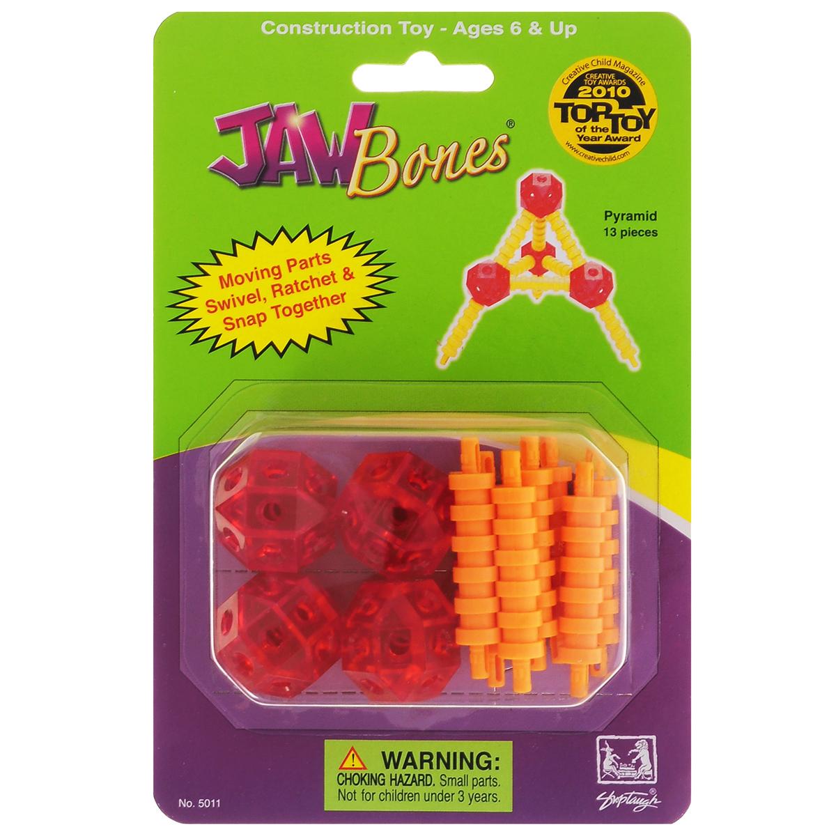 Jawbones Конструктор Пирамида jawbones конструктор велосипед jawbones в блистере 13 деталей