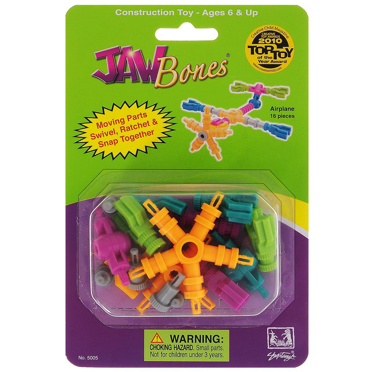 Jawbones Конструктор Аэроплан jawbones конструктор аэроплан jawbones в блистере 16 деталей