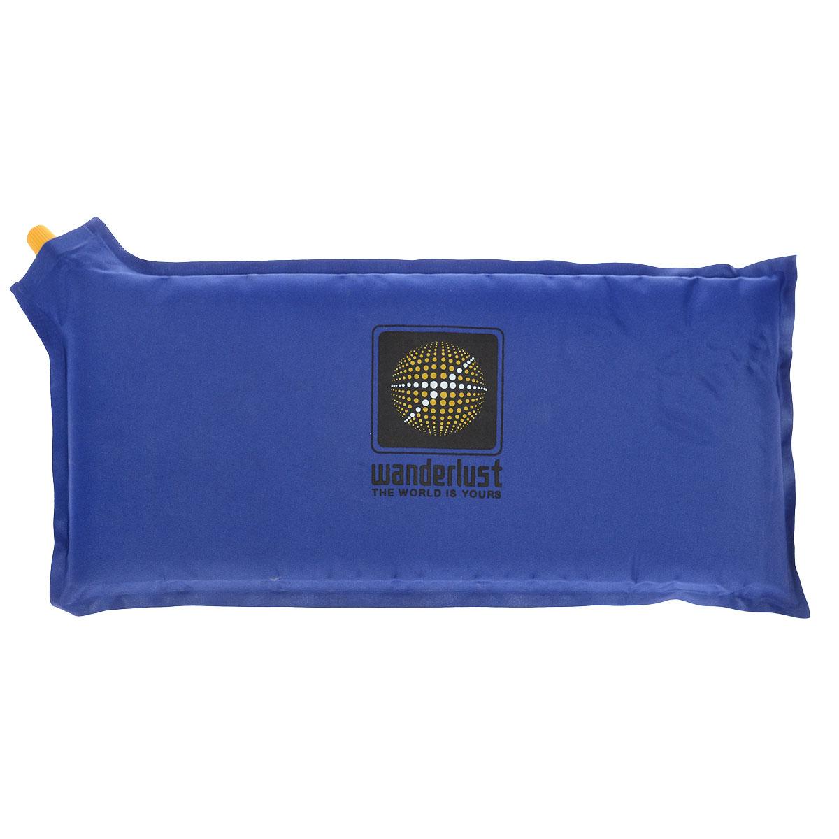 Коврик-сиденье Wanderlust Seat III, самонадувающийся, цвет: синий