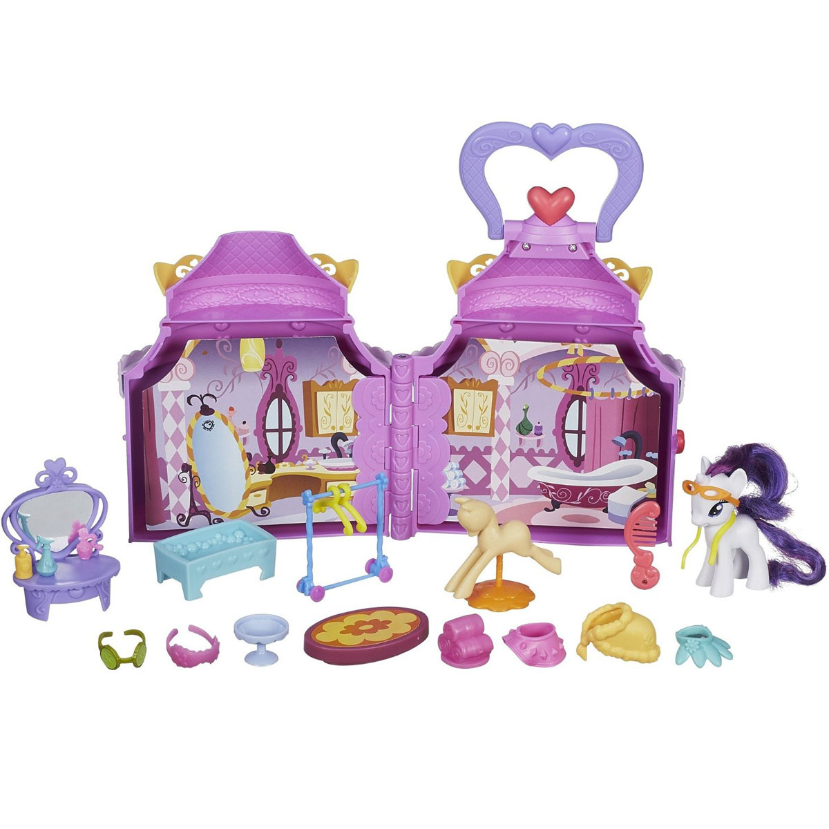My Little Pony Игровой набор Бутик Рарити игровые наборы hasbro игровой набор туалетный столик рарити