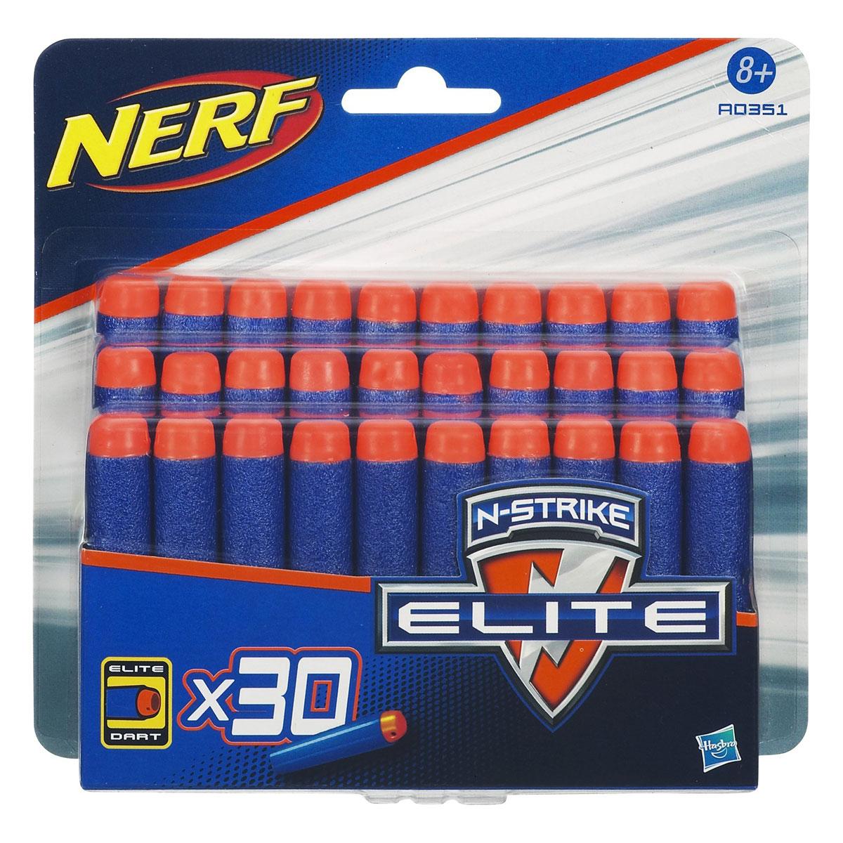 Набор стрел Nerf для бластеров Elite, 30 шт