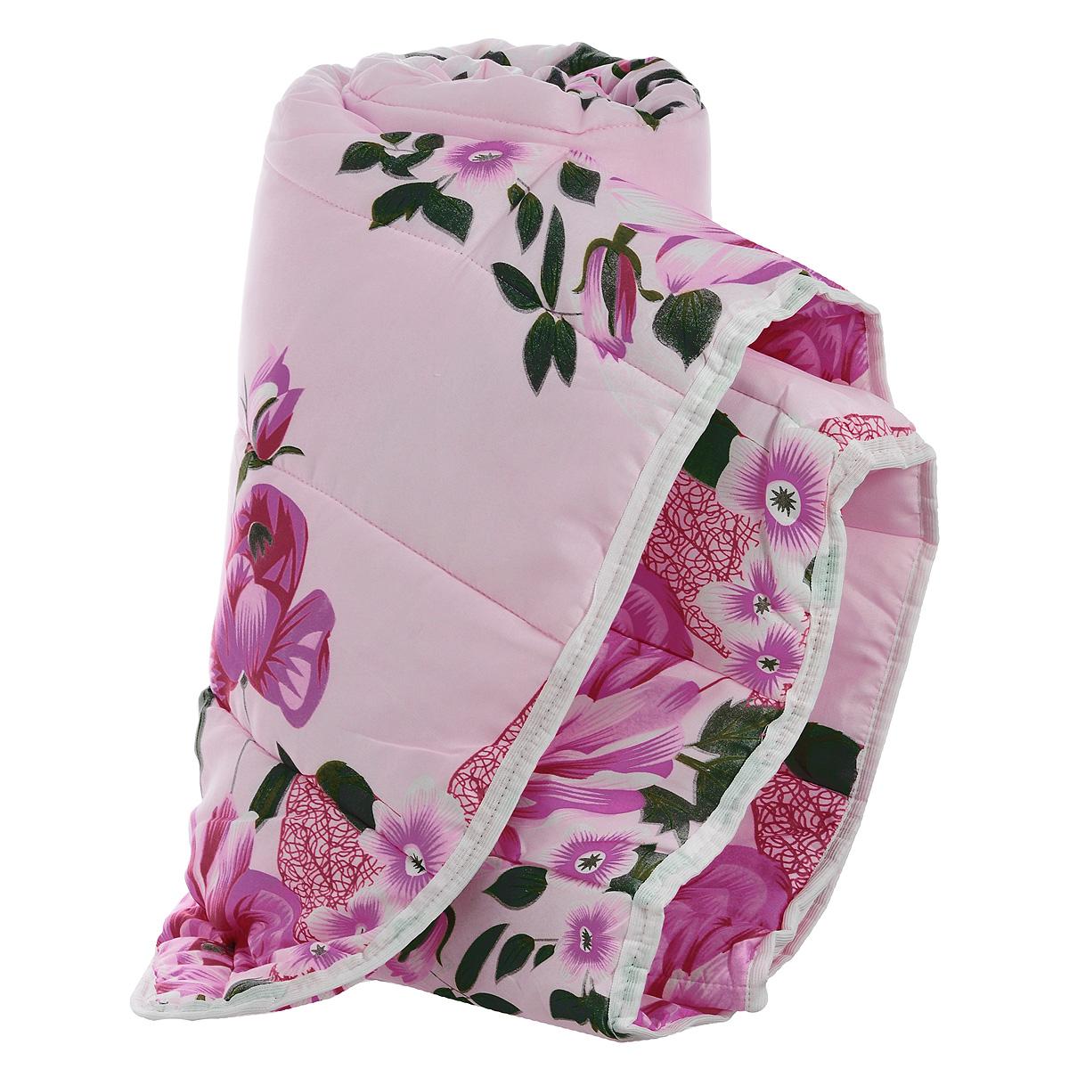 Одеяло всесезонное OL-Tex Miotex, наполнитель: полиэфирное волокно Holfiteks, цвет: розовый, красный, 172 х 205 смМХПЭ-18-3_розовыйВсесезонное одеяло OL-Tex Miotex создаст комфорт и уют во время сна. Стеганый чехол выполнен из полиэстера и оформлен красивым рисунком. Внутри - наполнитель из полиэфирного высокосиликонизированного волокна Holfiteks, упругий и качественный. Холфитекс - современный экологически чистый синтетический материал, изготовленный по новейшим технологиям. Его уникальность заключается в расположении волокон, которые позволяют моментально восстанавливать форму и сохранять ее долгое время. Изделия с использованием Холфитекса очень удобны в эксплуатации - их можно часто стирать без потери потребительских свойств, они быстро высыхают, не впитывают запахов и совершенно гиппоаллергенны. Холфитекс также обеспечивает хорошую терморегуляцию, поэтому изделия с наполнителем из холфитекса очень комфортны в использовании. Одеяло с наполнителем Холфитекс порадует вас в любое время года. Оно комфортно согревает и создает отличный микроклимат. За одеялом легко ухаживать, можно стирать в стиральной машинке.Рекомендации по уходу:- Ручная и машинная стирка при температуре 30°С.- Не гладить.- Не отбеливать. - Нельзя отжимать и сушить в стиральной машине.- Сушить вертикально. Размер одеяла: 172 см х 205 см. Материал чехла: 100% полиэстер. Материал наполнителя: полиэфирное высокосиликонизированное волокно Holfiteks. Плотность: 300 г/м2.