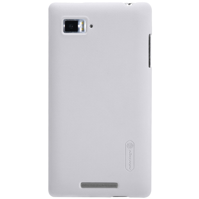Nillkin Super Frosted Shield чехол для Lenovo K910 (Vibe Z), White аксессуар чехол lenovo vibe c a2020 zibelino classico black zcl len a2020 blk