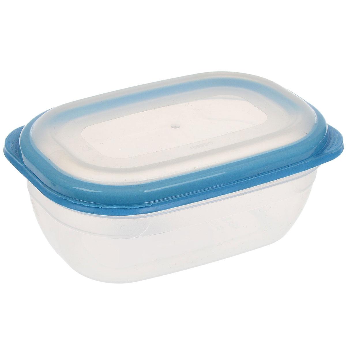 """Прямоугольный контейнер для СВЧ Полимербыт """"Премиум"""" изготовлен из высококачественного прочного пластика, устойчивого к высоким температурам (до +110°С). Крышка плотно и герметично закрывается, дольше сохраняя продукты свежими и вкусными. Контейнер идеально подходит для хранения пищи, его удобно брать с собой на работу, учебу, пикник или просто использовать для хранения пищи в холодильнике. Подходит для разогрева пищи в микроволновой печи и для заморозки в морозильной камере (при минимальной температуре -40°С). Можно мыть в посудомоечной машине."""