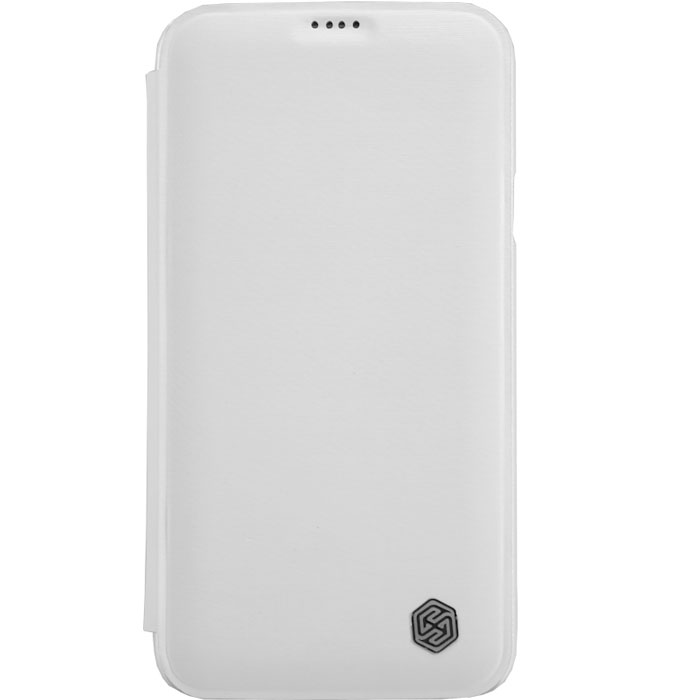 все цены на Nillkin Rain Series Leather Case чехол для Samsung Galaxy S5, White онлайн