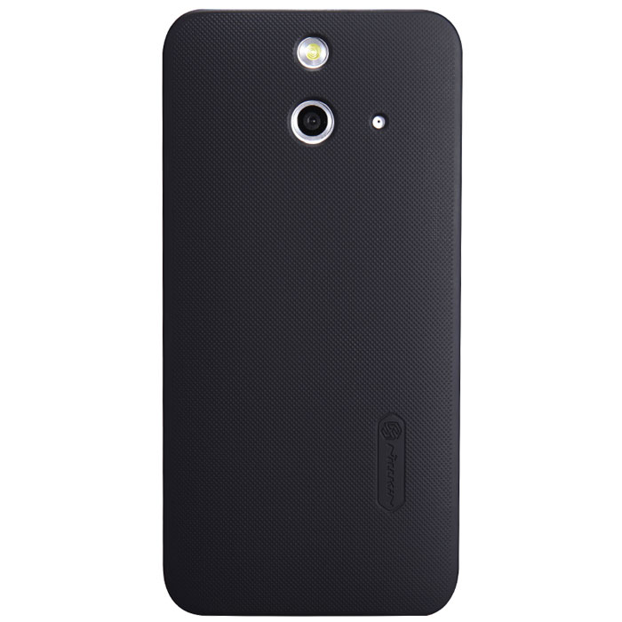 Nillkin Super Frosted Shield чехол для HTC One (E8), Black чехол для смартфона htc desire 700 7088 nillkin super frosted shield черный