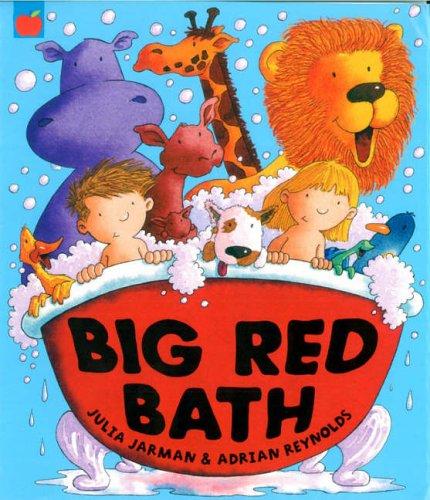 Big Red Bath the hippopotamus