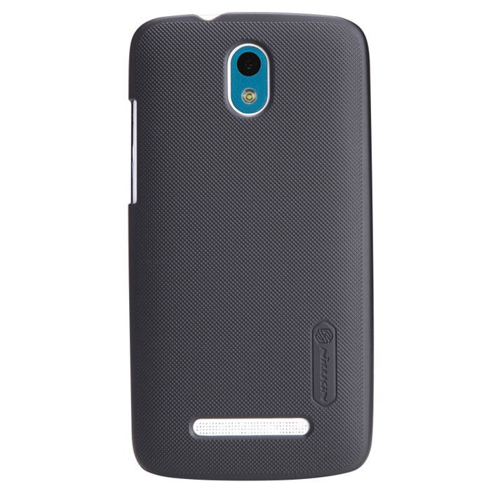 Nillkin Super Frosted Shield чехол для HTC Desire 500, Black чехол для смартфона htc desire 700 7088 nillkin super frosted shield черный