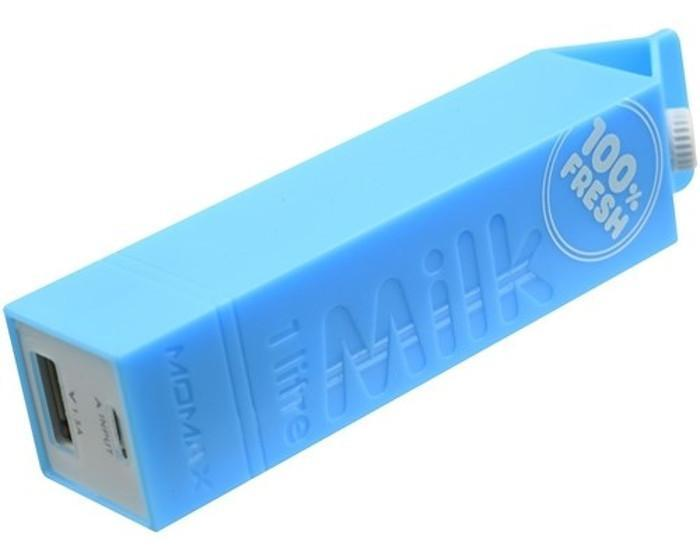 Untamo Unergy MilkBox, Blue портативный аккумулятор untamo unergy usb lightning