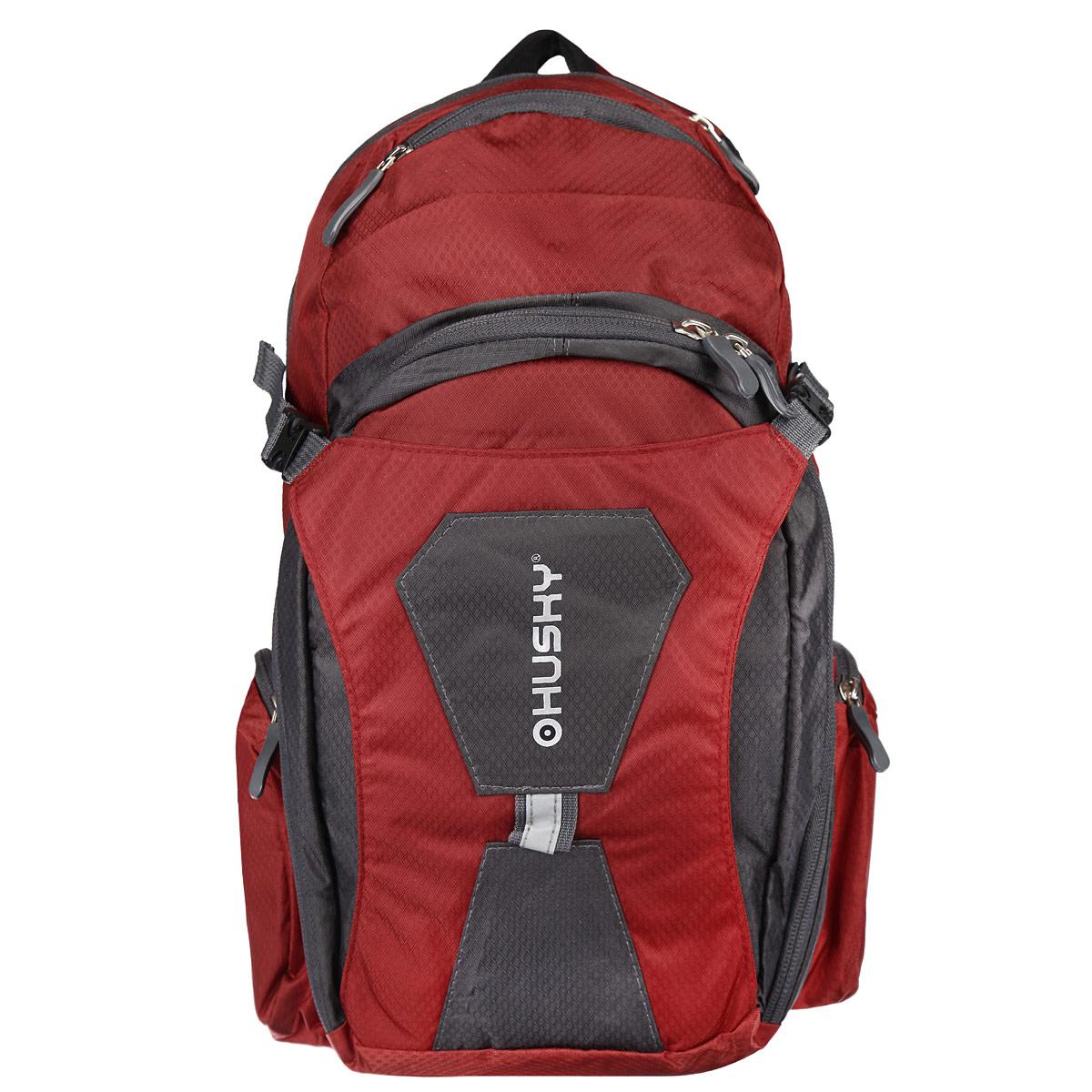Рюкзак городской Husky Sharp 13L, цвет: красный, серыйУТ-000052372Рюкзак Husky Sharp 13L предназначен для прогулок и велоспорта. Он позволит вам взять с собой все необходимое. Рюкзак выполнен из прочного нейлона. Особенности рюкзака Husky Sharp 13L:водонепроницаемая ткань одно вместительное отделение карман для каски система вентиляция спины внутренний органайзер накидка от дождя боковые карманы светоотражающие элементы.