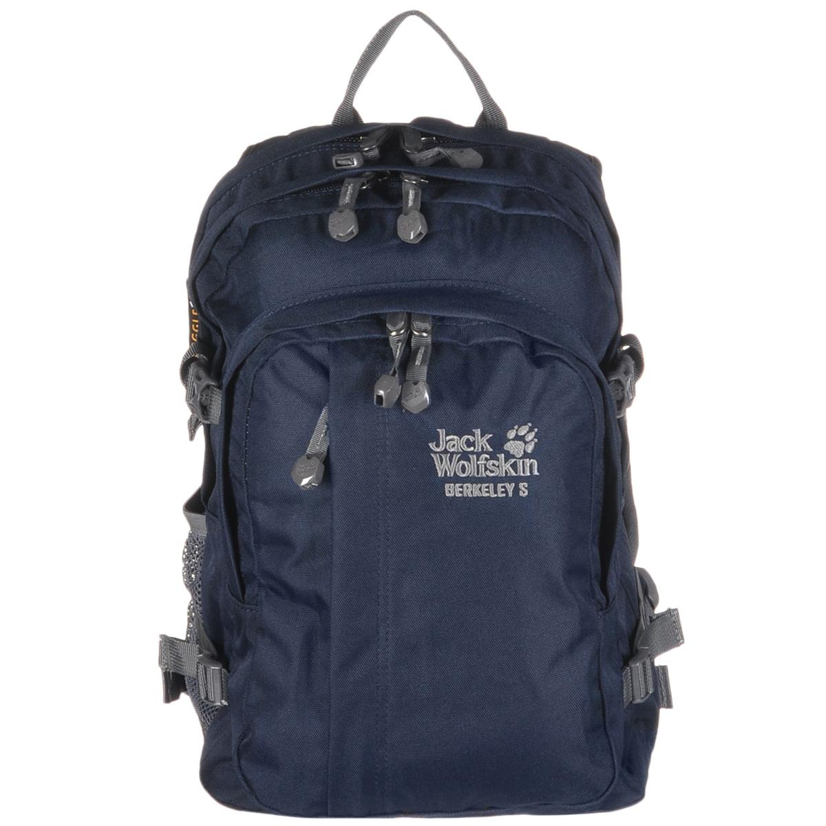 Рюкзак городской Jack Wolfskin Berkeley S, цвет: темно-синий, 23 л рюкзак jack wolfskin dayton цвет черный 2002481 6000