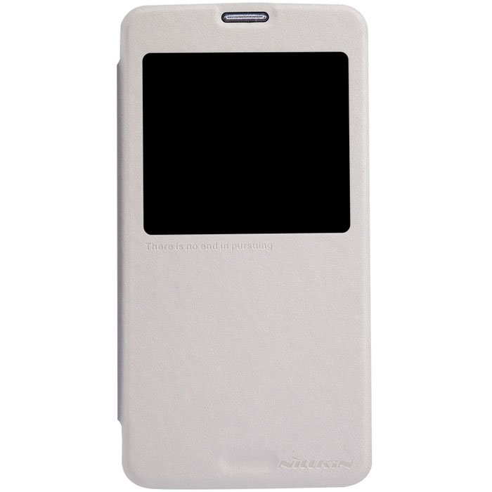 Nillkin Sparkle Leather Case чехол для Samsung Galaxy S5, White nillkin чехол книжка для lg l60 x145 sparkle leather case